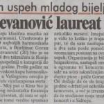 Goran Stevanović laureat takmičenja u Kini - Slobomir P Univerzitet