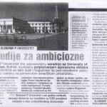 Studije za ambiciozne - Slobomir P Univerzitet