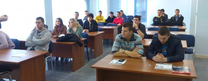 Ucenici Tehnicke skole iz Bijeljine - Slobomir P Univerzitet