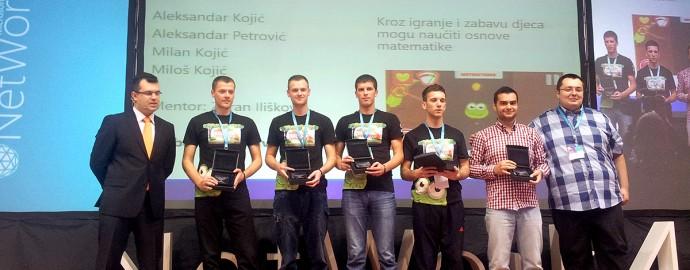 MS NetWork 4 - ImagineCup Winners BiH 2014 - Slobomir P Univerzitet