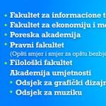 Počele predprijave za upis na fakultete Slobomir P Univerziteta
