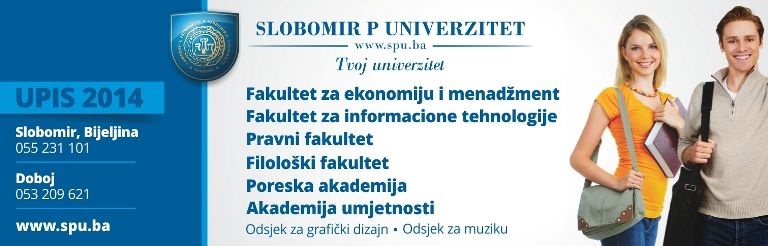 Slobomir P Univerzitet - upis