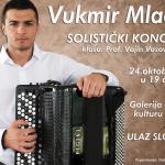 Solistički koncert Mladena Vukmira