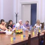 Radni sastanak sa predstavnicima Tambovskog državnog univerziteta G.R. Deržavin