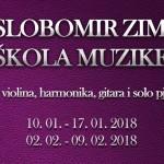 Prva Slobomir zimska škola muzike na SPU!