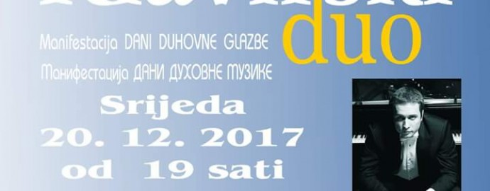 Klavirski duo Aleksandra Radosavljevic i Neven Sobajic