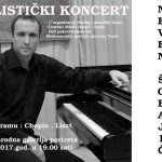 Solistički koncert prof. dr Nevena Šobajića u Tuzli