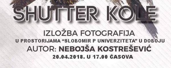 Plakat - izlozba N. Kostresevicafgh