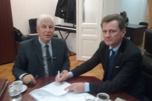 Potpisivanje Ugovora izmedju SPU i Union