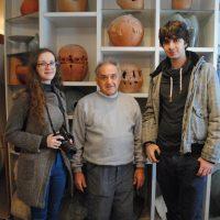 Studenti Odsjeka za grafički dizajn SPU u posjeti umjetničkom ateljeu