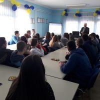 Emeritus prof. dr Budimir Stakić održao stručno predavanje u Ekonomskoj školi u Bijeljini