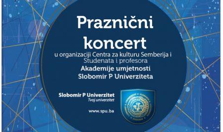 Program Novogodišnjeg koncerta profesora i studenata Akademije umjetnosti
