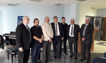 Radna posjeta predstavnika ruskog univerziteta IMC Slobomir P Univerzitetu