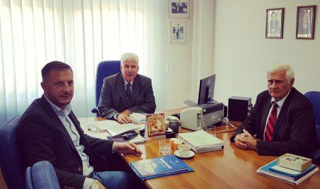 Radna posjeta narodnog poslanika Narodne Skupštine Republike Srpske Nedeljka Ćorića Slobomir P Univerzitetu