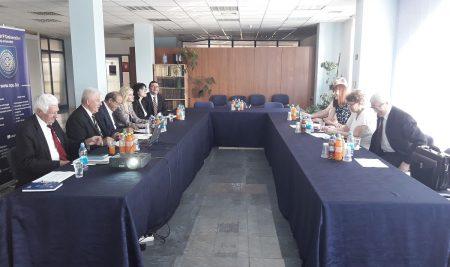 Posjeta delegacije ruskog IMC iz Moskve Slobomir P Univerzitetu