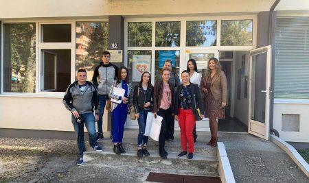Posjeta Pravnog fakulteta SPU Centru za socijalni rad u Doboju