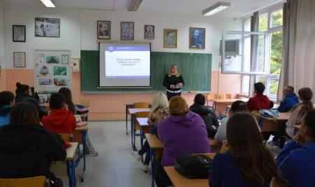 Predavanja učenicima Ekonomske škole