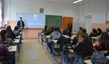 Posjeta Ekonomskoj školi u Doboju