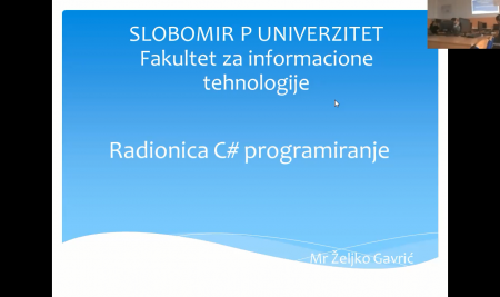 Fakultet za informacione tehnologije nastavlja uspješnu saradnju sa Tehničkom školom Doboj