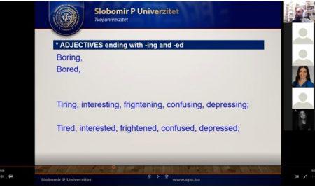 Sa učenicima Medicinske škole Doboj o najčešćim greškama u engleskom jeziku