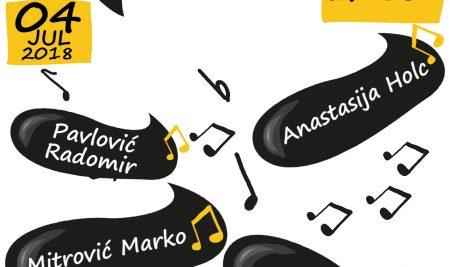 Najava koncerta na Slobomir P Univerzitetu