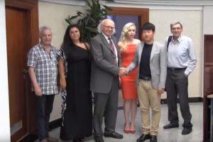 Posjeta predstavnika Univerziteta iz Kine i Bjelorusije