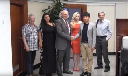 Sastanak predstavnika Slobomir P Univerziteta sa predstavnicima Univerziteta iz Kine i Bjelorusije